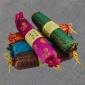 【竹炭枕】绸缎糖果型会销礼品赠品 定制竹炭颈椎花草枕头